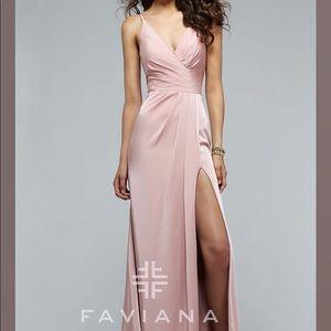 Faviana 7755 Prom Dress in Dusty Rose